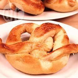 Recette bretzels à la machine à pain – toutes les recettes allrecipes