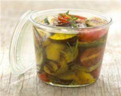 Recette légumes grillés marinés à l'huile d'olive des beaux-de ...