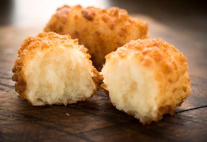 Recette de croquettes de pommes de terre au cheddar