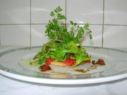 Recette de tarte de tomates confites