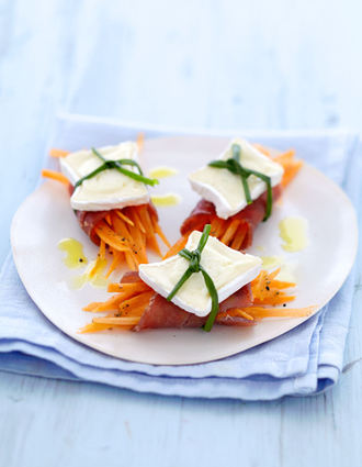 Recette de bouchée de thon fumé et carottes au caprice des dieux ...