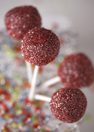 Recette de cake pop rose de reims