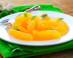Recette carpaccio d'orange