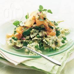 Recette salade de pâtes au saumon fumé – toutes les recettes ...