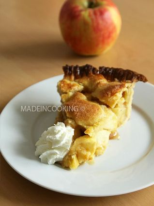 Recette de tarte aux pommes façon américaine