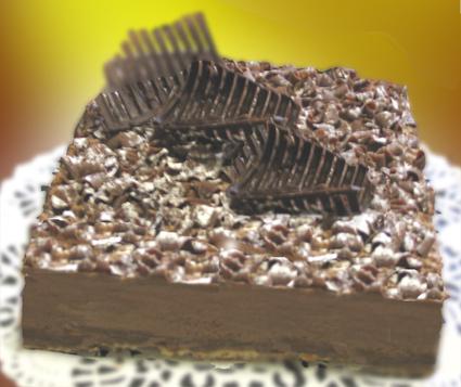 Recette de croustillant au chocolat