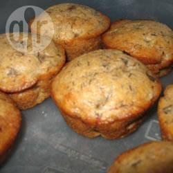 Recette muffins à la banane et aux pépites de chocolat – toutes les ...
