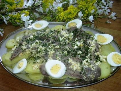 Recette de petite salade de langue