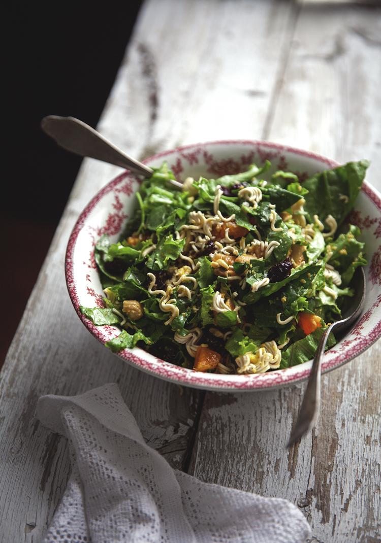 Salade verte et vinaigrette la m lasse recette - Recette salade verte ...