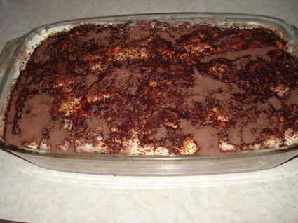 Recette de tiramisu au chocolat ultra gourmand