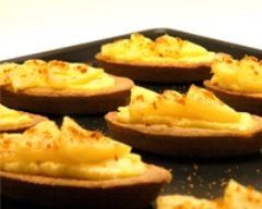 Recette tartelette ananas rôti spéculoos