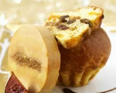 Recette foie gras aux figues et brioches aux raisins secs