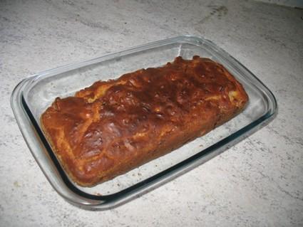 Recette de cake aux lardons et camenbert