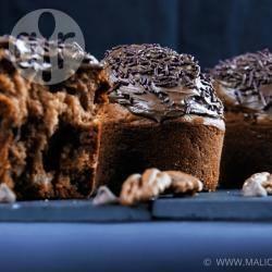 Recette muffins banane, noix de pécan et pépites de chocolat ...