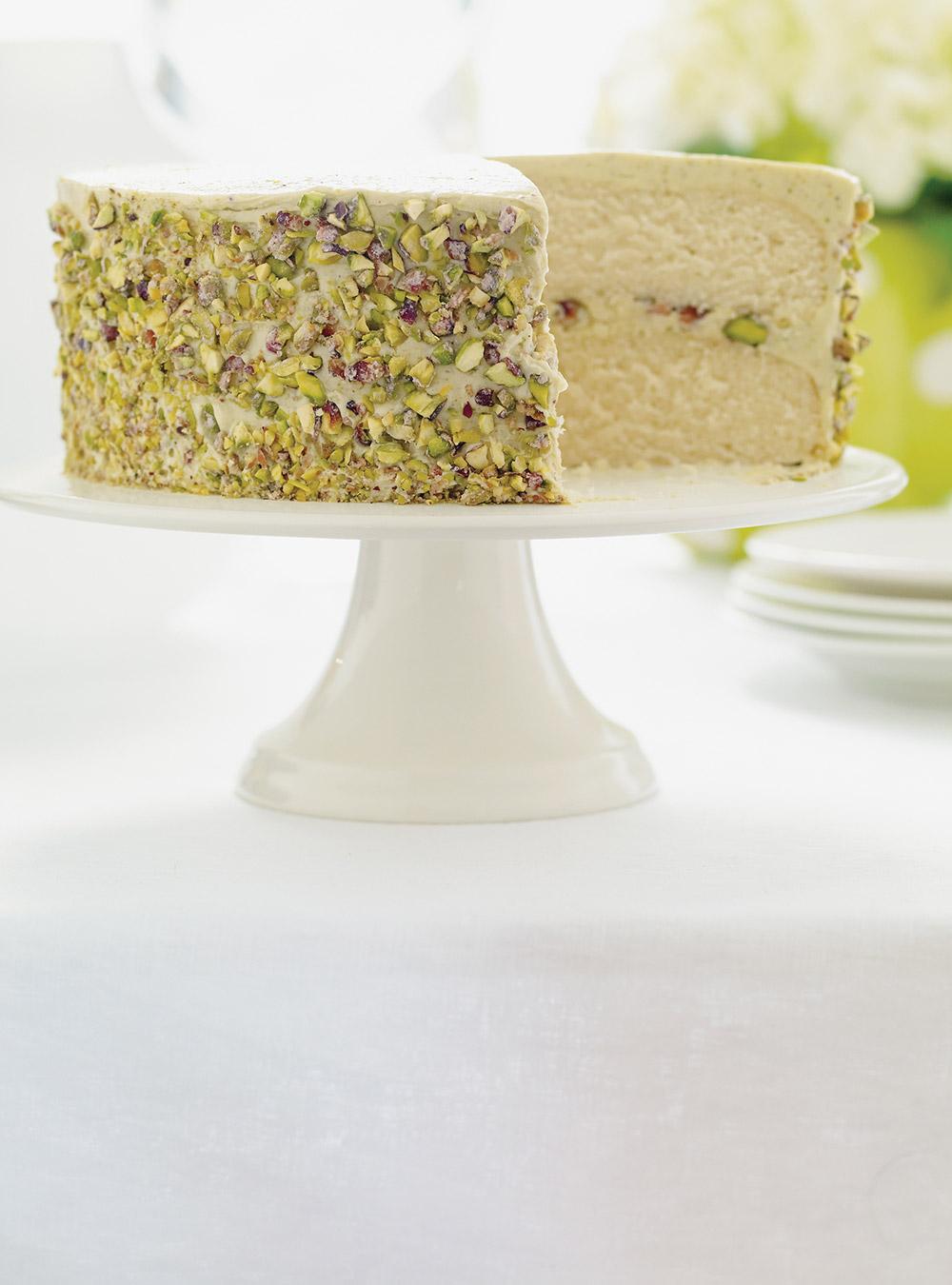 Gâteau à la pistache   ricardo