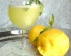 Recette jus de citron et de menthe
