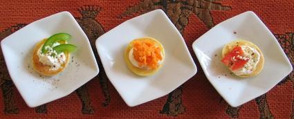 Recette de mini crêpes apéritives
