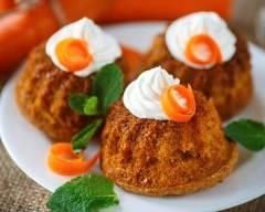 Recette muffins à la carotte pour pâques