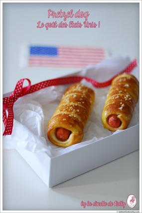 Recette de pretzel ou bretzel dog