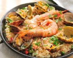 Recette paella traditionnelle