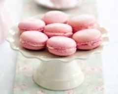 Recette macarons roses au chocolat blanc