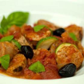Ragoût de saucisses à l'italienne pour 4 personnes