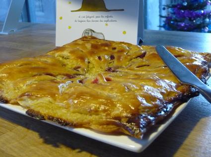 Recette de galette des rois frangipane citron & framboise