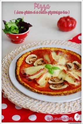 Recette de pizza légère sans gluten