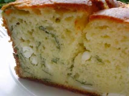Recette de cake à la feta et basilic
