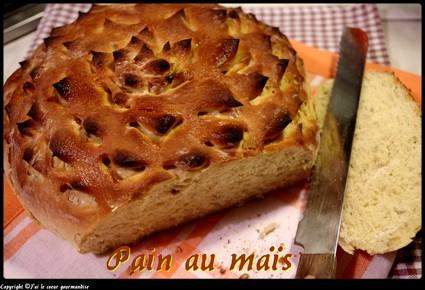 Recette de pain de maïs au four