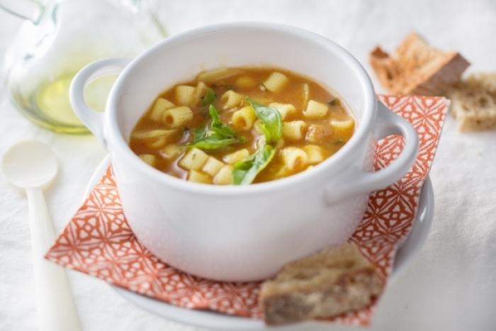 Recette de minestrone de légumes au lard fumé facile et rapide