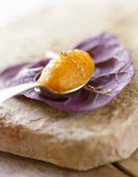 Mousseline de carottes à l'orange pour 4 personnes