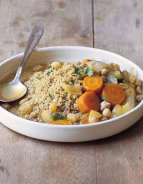 Couscous de quinoa aux légumes pour 6 personnes