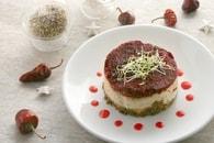 Cheesecake au chèvre frais et tomates séchées