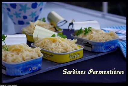 Recette de sardines parmentières