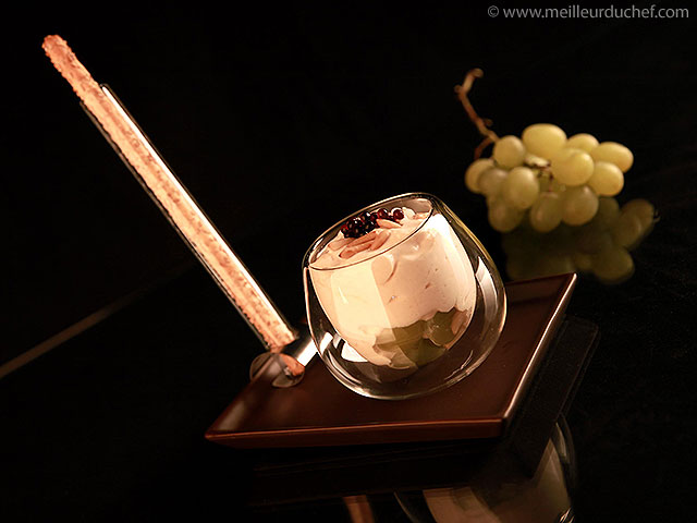 Fromage au vin de paille  notre recette illustrée  meilleurduchef.com