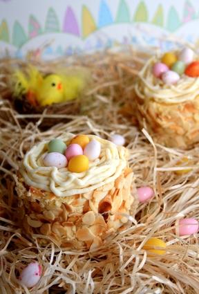 Recette de petits nids de pâques comme chez le pâtissier