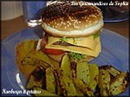 Recette de hamburgers et potatoes