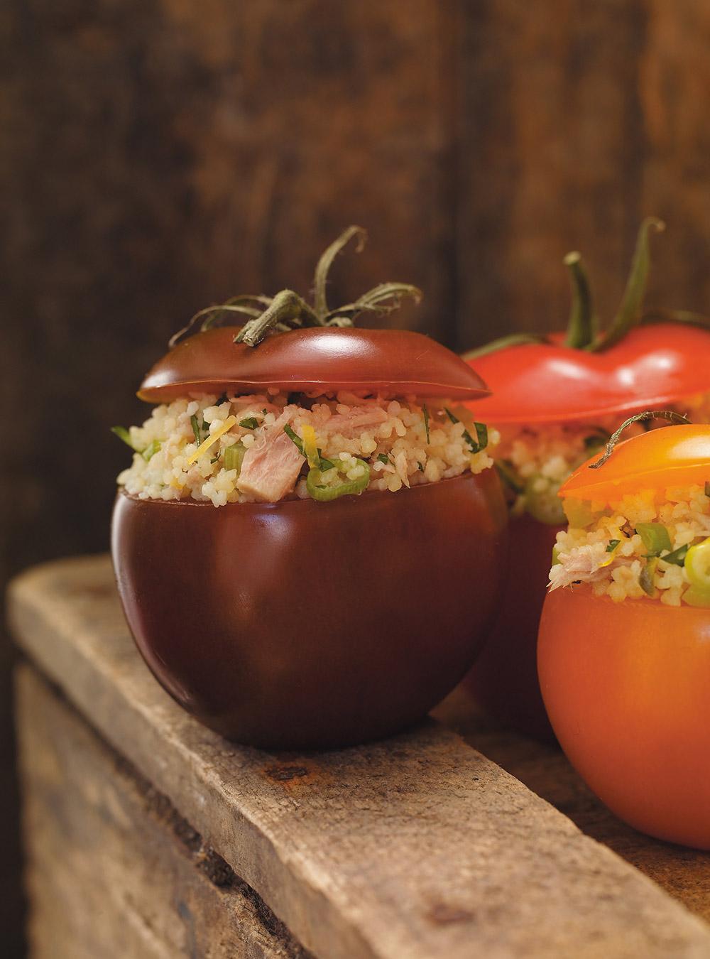Tomates farcies au thon | ricardo