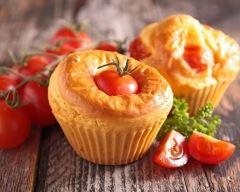 Recette muffin au saumon et tomates cerise surprise