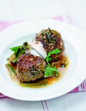 Boulettes de viande aux poireaux pour 6 personnes