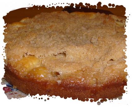 Recette de gâteau pomme-banane qui fait croustiller la noix de ...