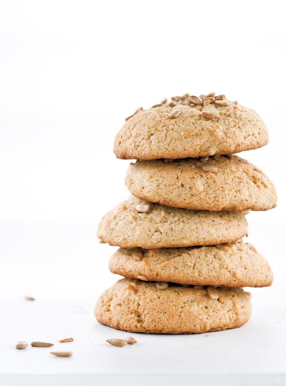 Biscuits à la banane et aux graines de tournesol | ricardo