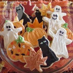 Recette biscuits décorés pour halloween – toutes les recettes ...