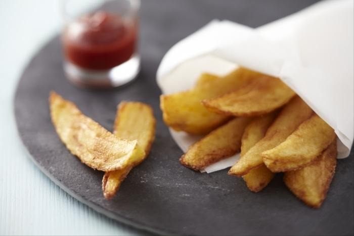 Recette de pommes copeaux ou frites rustiques facile et rapide