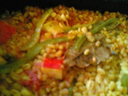Recette de paella originale au blé