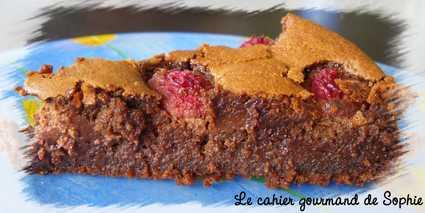 Recette de le meilleur fondant au chocolat truffé de framboises