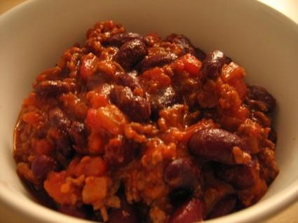 Chili con carne familial la recette facile recette - Chili con carne maison ...