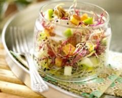 Recette salade bio sucrée-salée