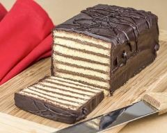 Recette cake mabré à l'horizontal